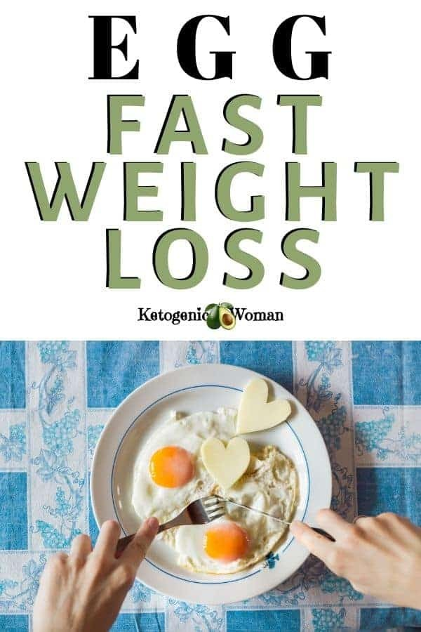 Egg fast weight loss