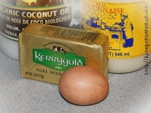 low carb egg fast