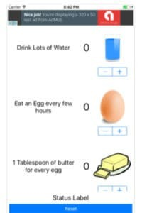 The free Egg Fast Tracker App for iPhone and Android. Helps with Egg Fast tracking!
