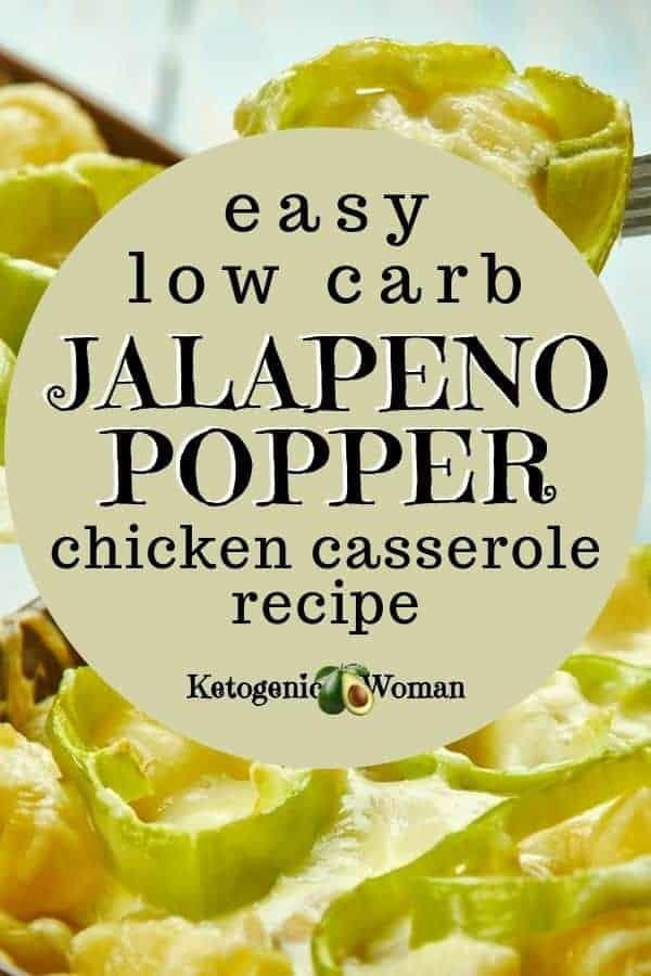 gluten free jalapeno popper chicken casserole