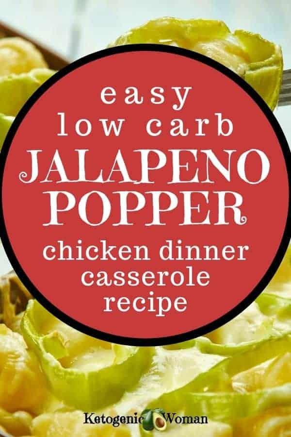 keto jalapeno popper chicken casserole