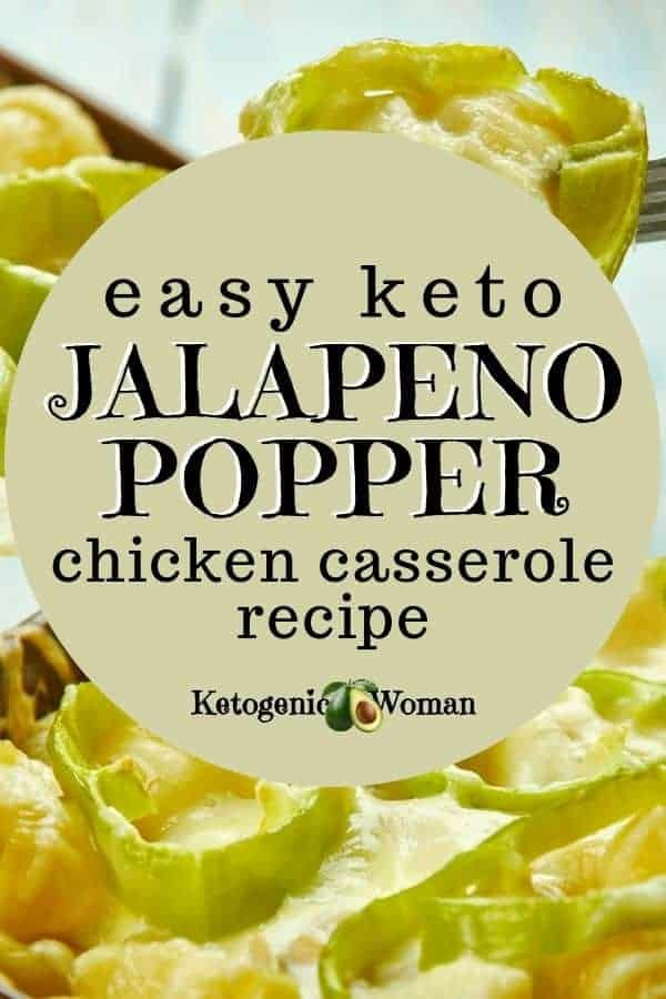 low carb jalapeno popper chicken casserole