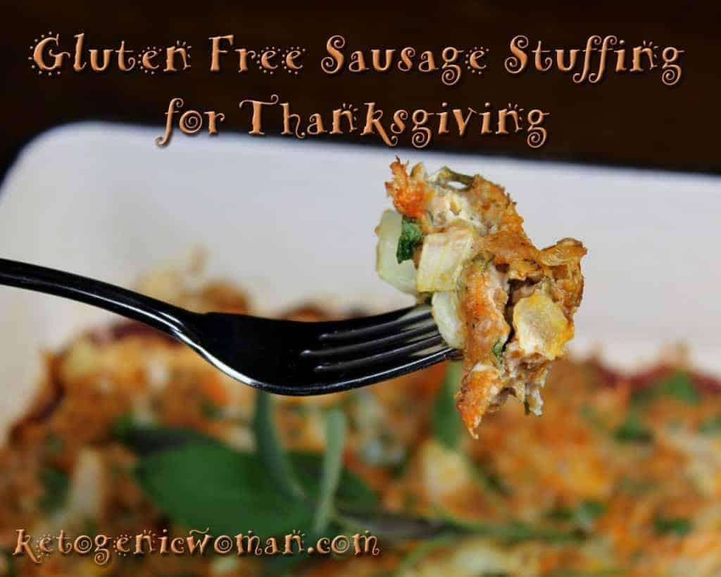 Gluten Free Sausage Stuffing