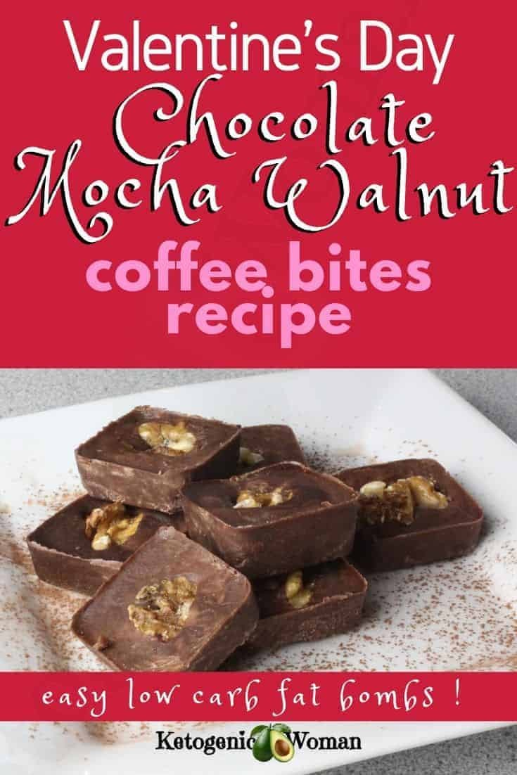 Keto Mocha Walnuts Coffee Bites Recipe