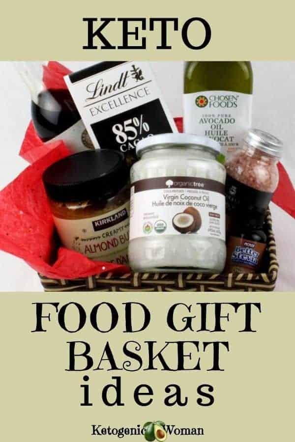 Keto food gift basket