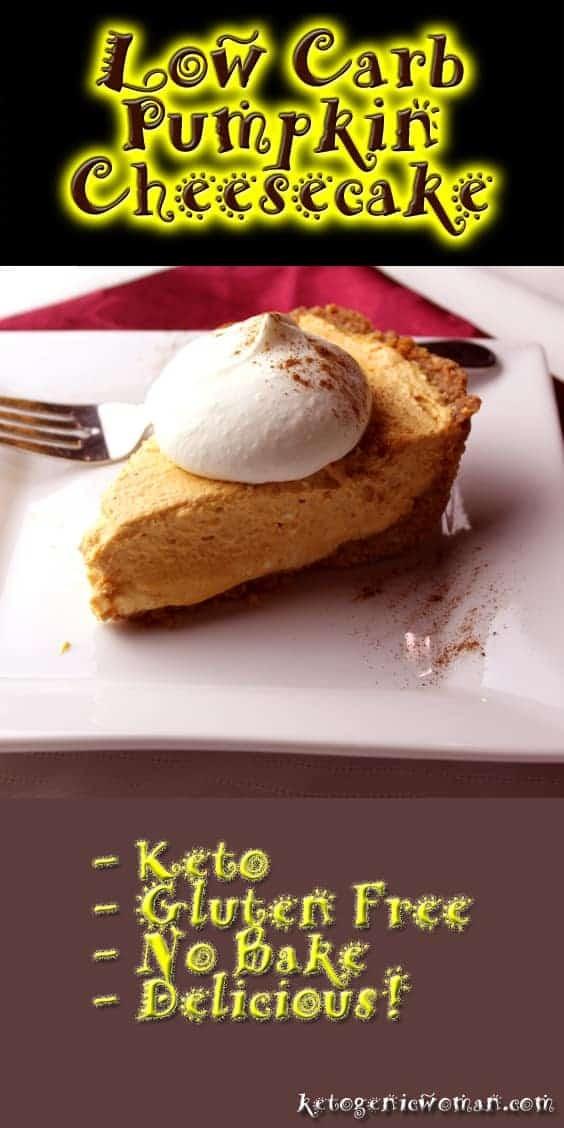 Low Carb Thanksgiving Dessert Recipe