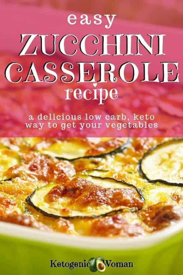 Easy Keto Zucchini Gratin. This zucchini casserole is cheesy and delicious