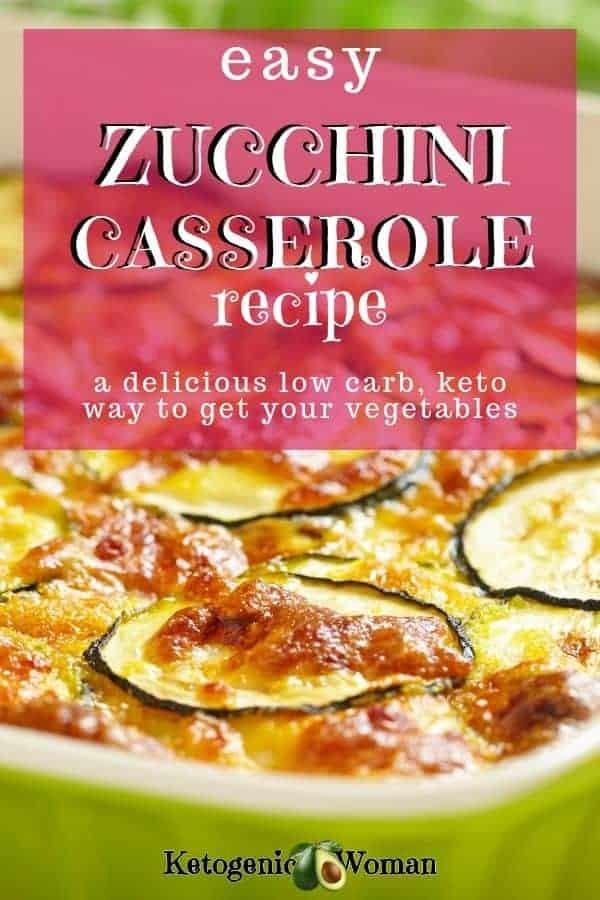 Easy Keto Zucchini Gratin. This zucchini casserole is cheesy and delicious.