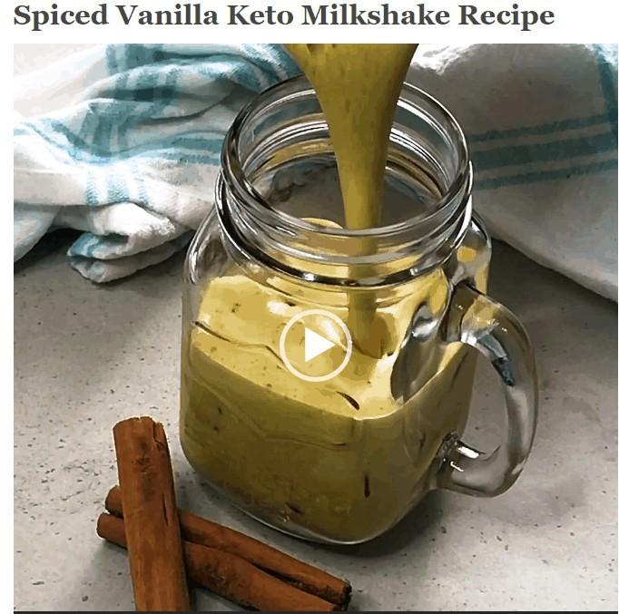 Keto Milkshake Recipe