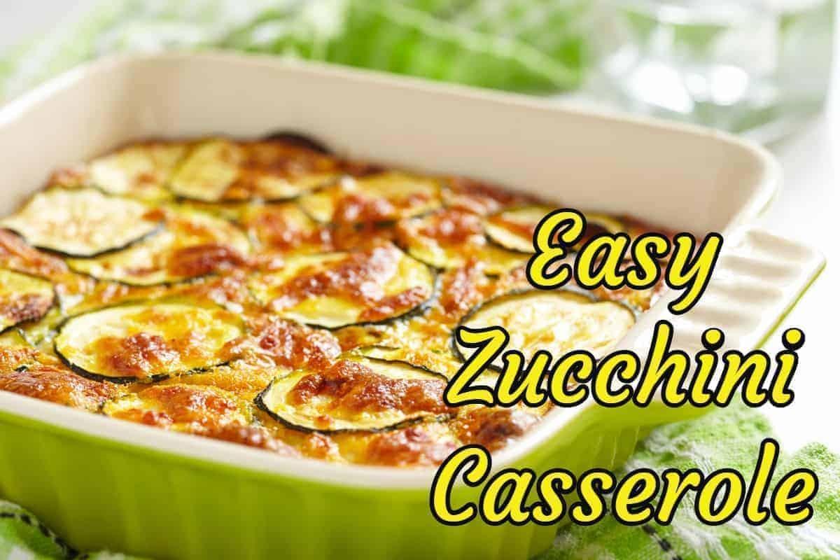 easy zucchini casserole gratin