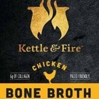 Kettle and Fire Chicken Bone Broth 4 Pack