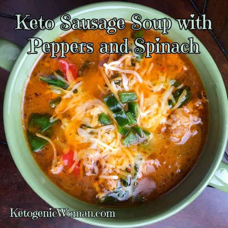 Keto Sausage Soup Recipe