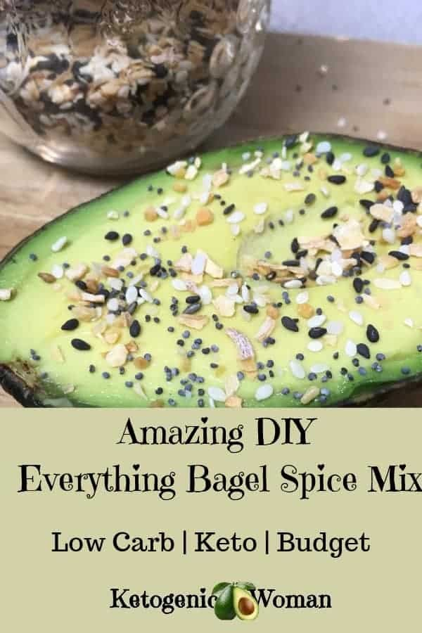 Make your own Everything but the Bagel Spice mix better than Trader Joe's! Use on your favorite keto foods!