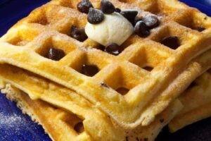 Keto Chocolate Chip Waffles Recipe