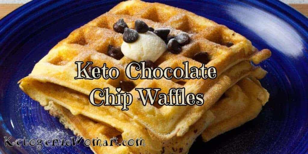 Keto Chocolate Chip Waffle Recipe