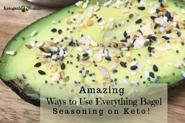 Ways to use Everything Bagel Seasoning mix on Keto