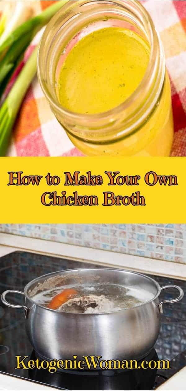 Keto Staples: Homemade Chicken Broth is a key skill to learn!