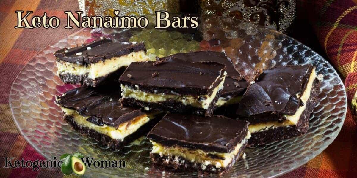 Keto Nanaimo Bars Recipe
