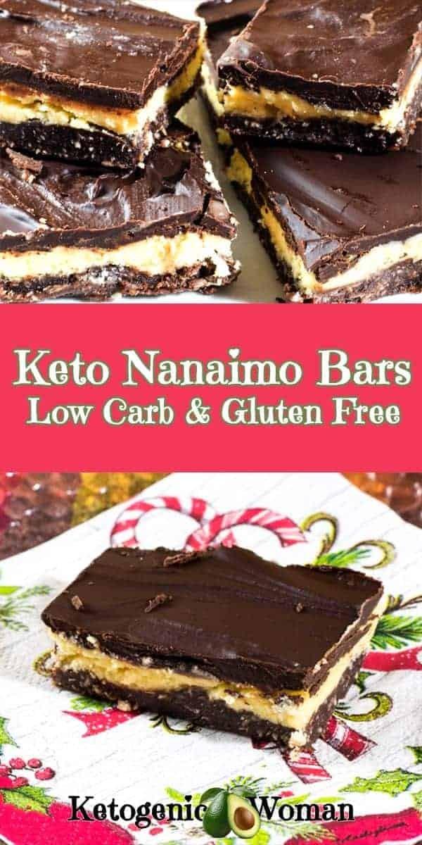 Keto Nanaimo Bar Recipe