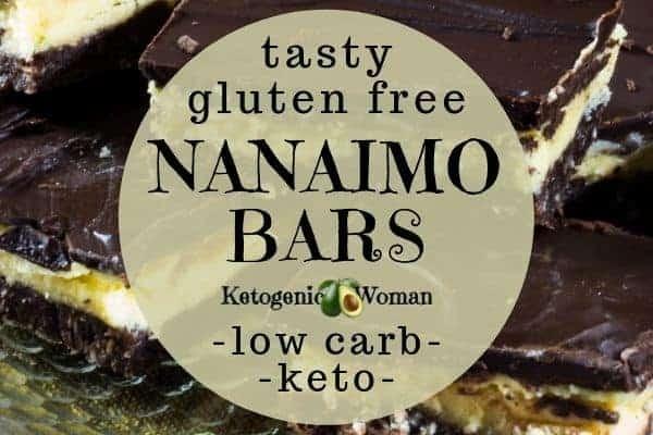 Low carb nanaimo bars recipe? No way! Try these simple homemade diy keto nanaimo bar.