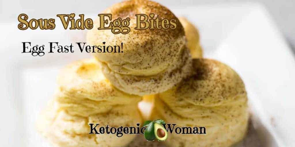 Pile of Egg Bites on white plate