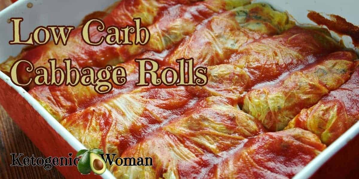 Easy Keto Cabbage Rolls. Budget friendly low carb dinner.