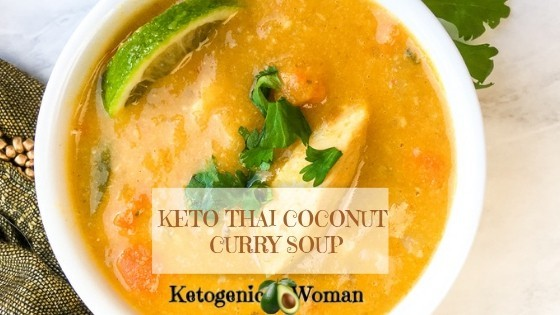Keto Thai Chicken Curry Soup