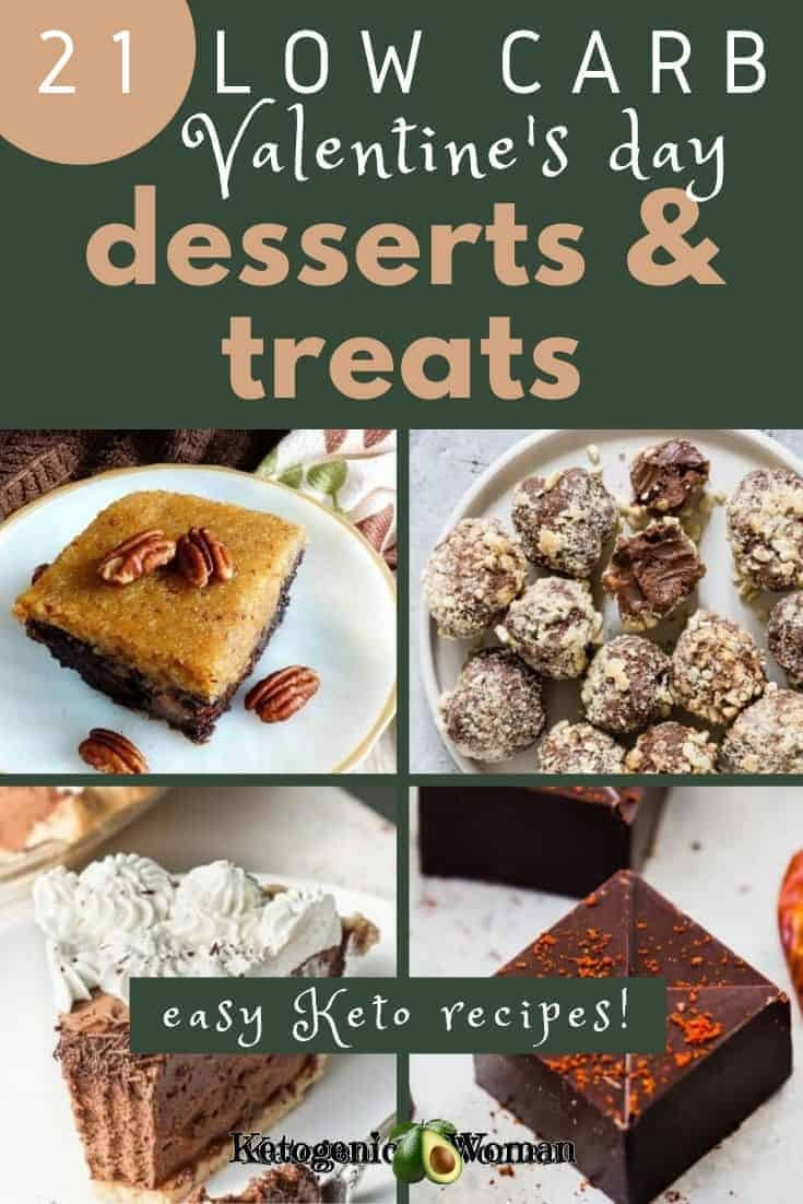 A bunch of different types of food, with Chocolate and Valentine\'s Day