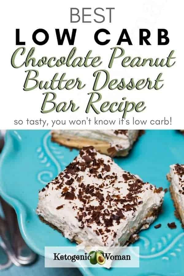 Low Carb Chocolate Peanut Butter Dessert Bars Recipe