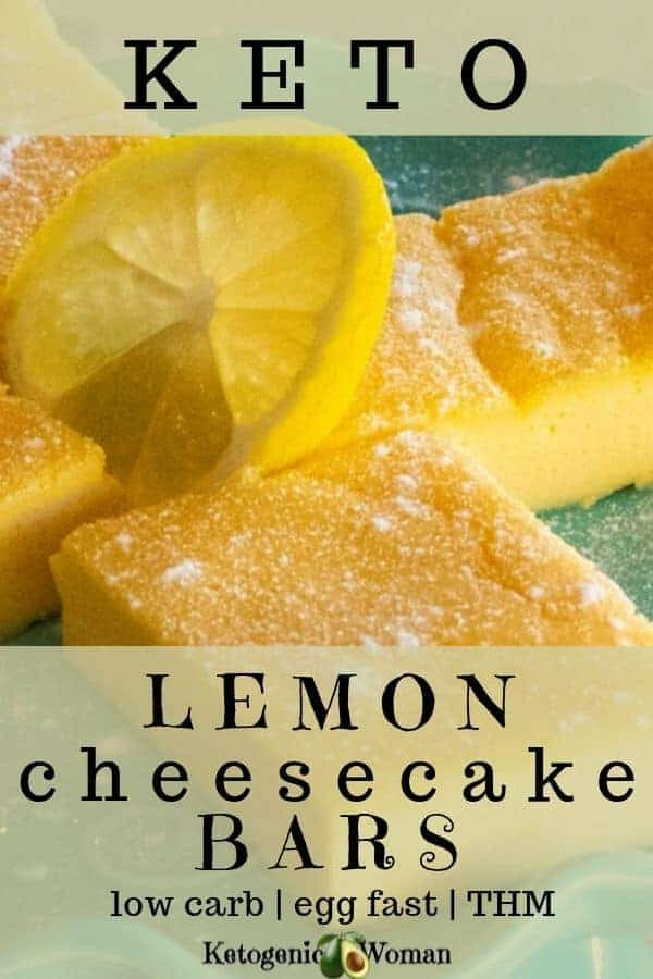 A closeup of lemon bars