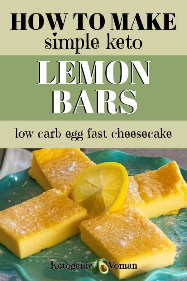 A plate of lemon bars