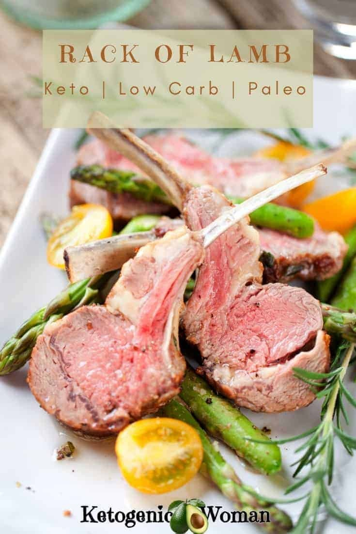 Simple juicy and keto! Rack of Lamb is not just for special occasions.
