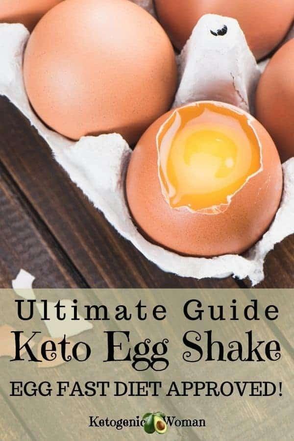 A sign on an egg