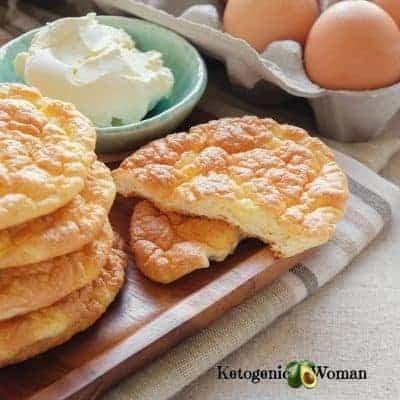 Egg Fast Cloud Bread