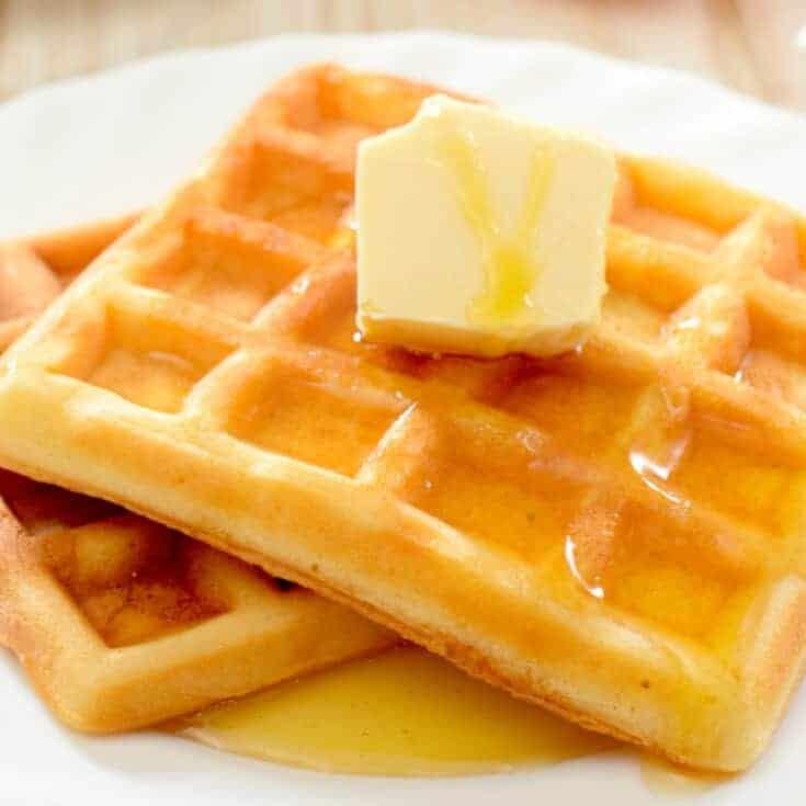 Egg Fast Waffles