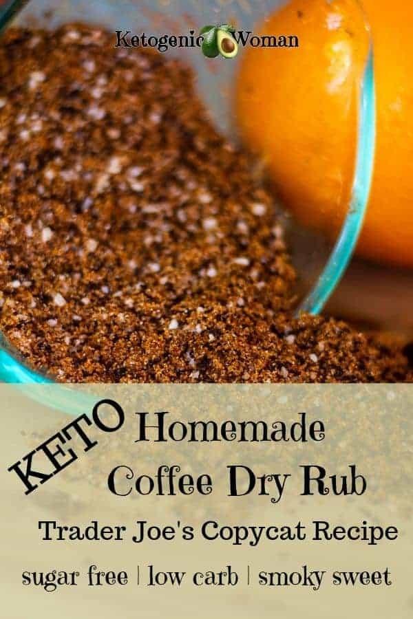 Keto Trader Joe's Coffee Dry Rub Spice