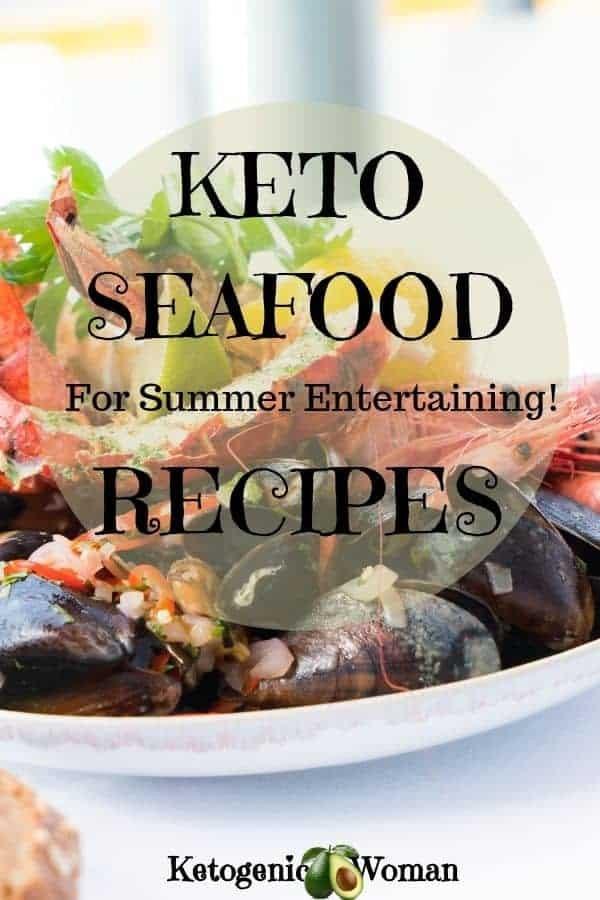 Summer Keto Fish and Seafood Recipes
