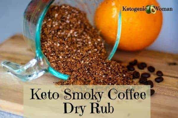 Keto Coffee Dry Rub