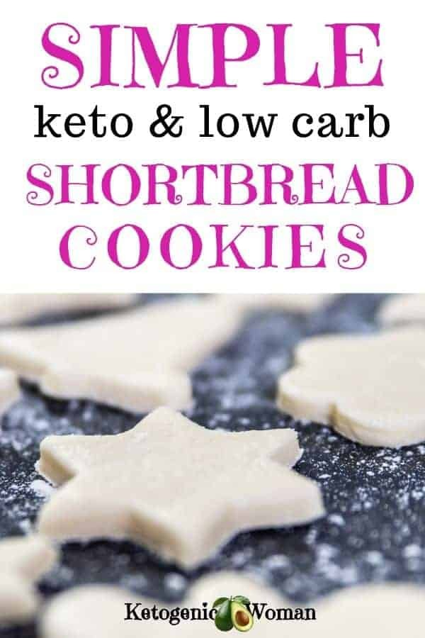 Want a new easy keto cookie recipe? Simple and easy low carb, keto shortbread cookies make a delicious and guilt free snack for everyone.