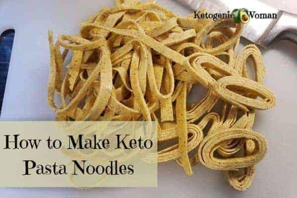How to make Keto Pasta Noodles