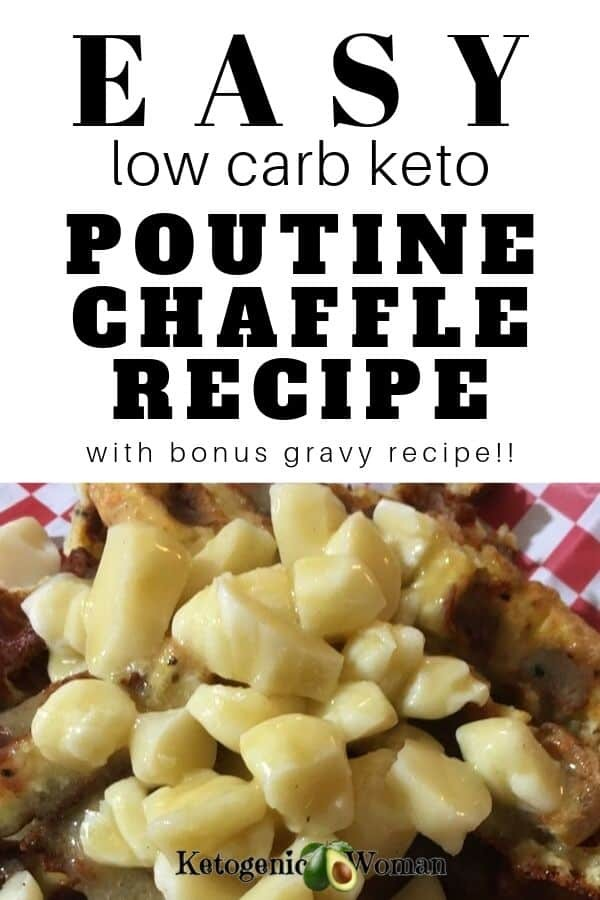 Best Keto Poutine Chaffle Recipe