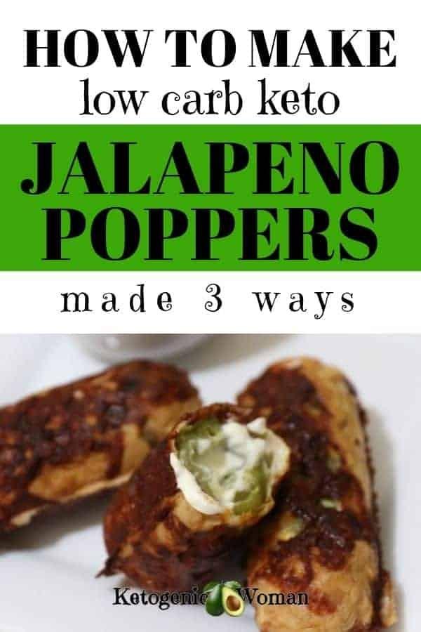 How to make low carb keto jalapeno popper recipe