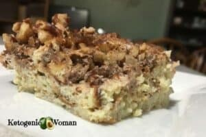 Slice of French Toast Casserole