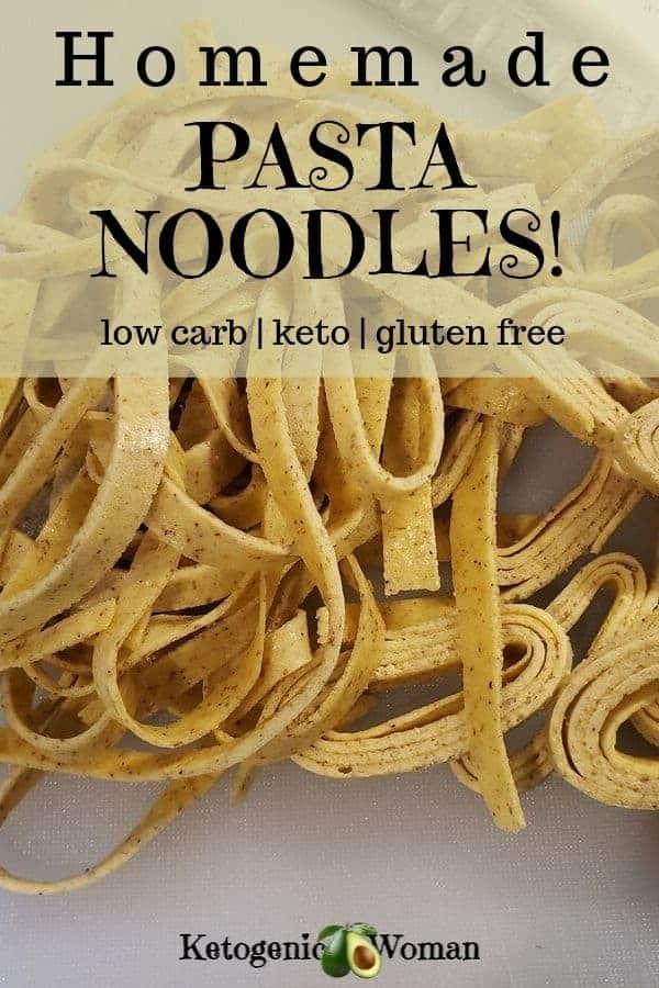 Home made Keto Pasta Noodles
