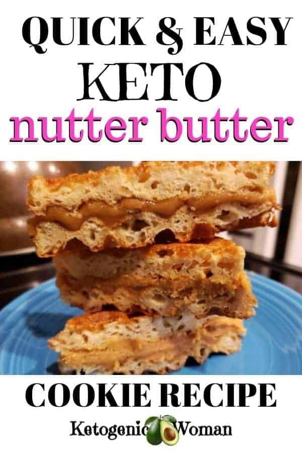 quick and easy keto nutter butter dessert recipe