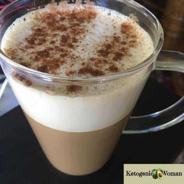 Egg Fast Pumpkin Spice Latte