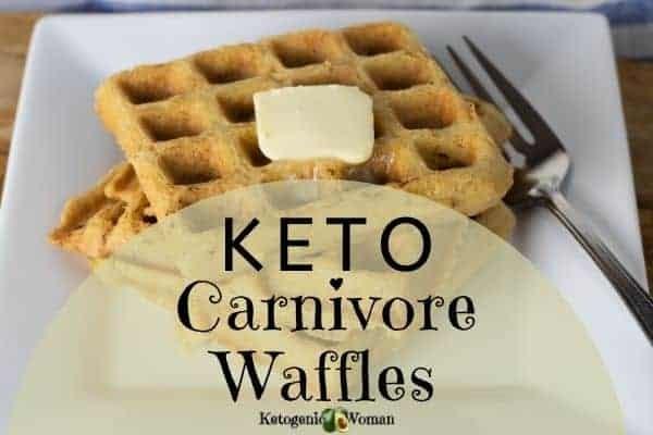 Keto Carnivore Meat Waffles