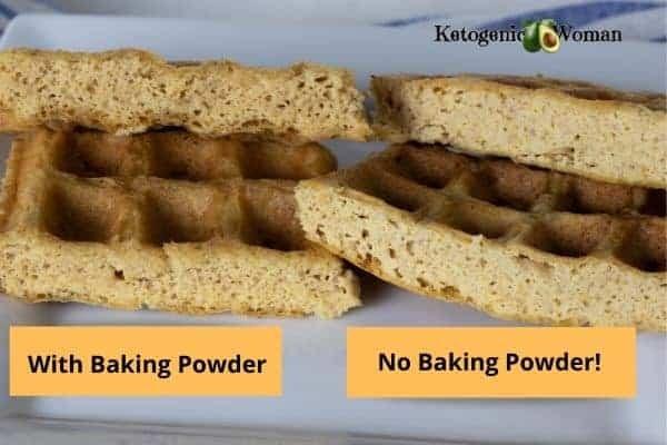 Carnivore waffles with no baking powder