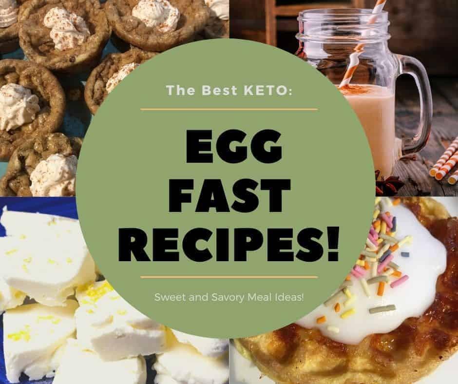 Keto Egg Fast Diet Recipes