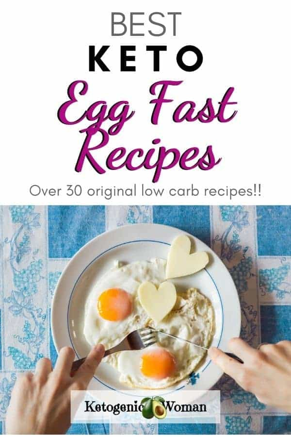 Ultimate Egg Fast Recipes Meals and Ideas